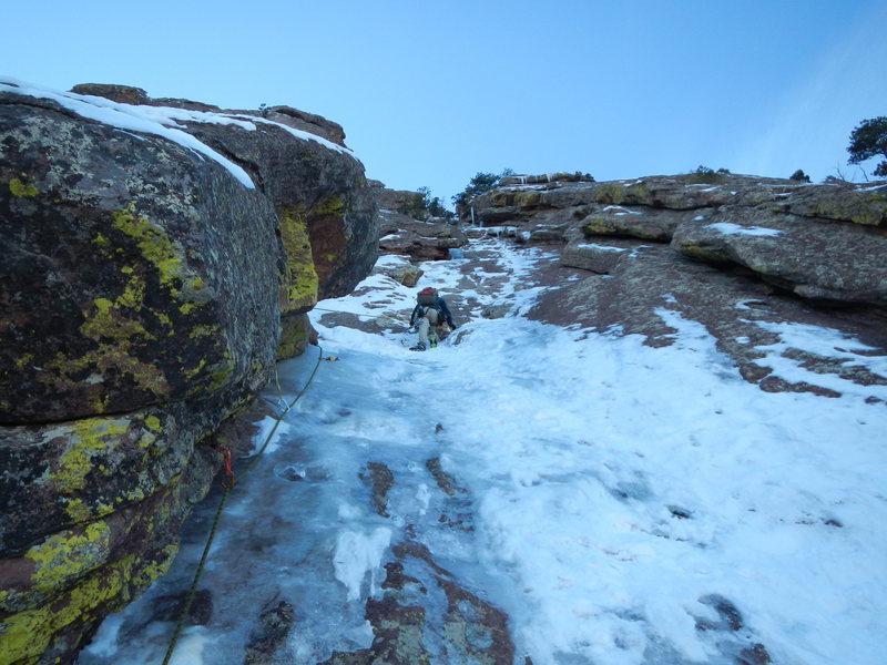 Rock Climbing Photo: Silkroad P2.