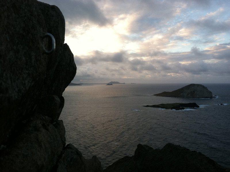 Rock Climbing Photo: makapu'u