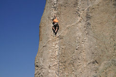 Rock Climbing Photo: Stu Ritchie on Baba Cool