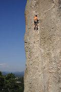 Rock Climbing Photo: Stu Ritchie, chilling on Baba Cool.