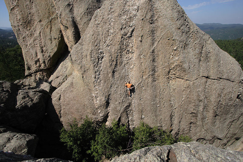 Rock Climbing Photo: Stu Ritchie, Wisconsin Beef