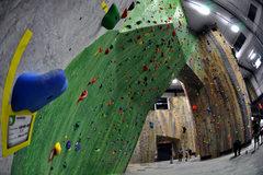 Rock Climbing Photo: Lead Wall