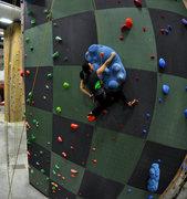 Rock Climbing Photo: Speed Wall