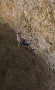 Rock Climbing Photo: Ed Strang crushing the first crux section on Zulu ...