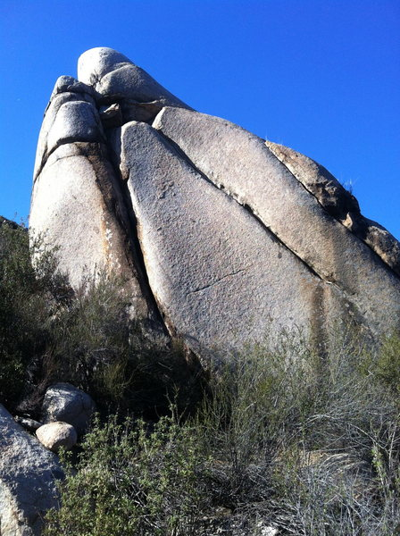 Rock Climbing Photo: The Praying Hands