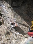 Rock Climbing Photo: Startin' the business.
