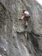 Rock Climbing Photo: Rob gettin' after Chérie, fais-moi mal