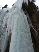 Rock Climbing Photo: Front staircase of The Verminator, a bit hacked an...