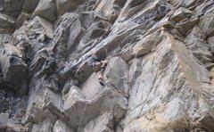 Rock Climbing Photo: Scary Math