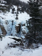 Rock Climbing Photo: Ach Mon is the gully in the center, slightly right...
