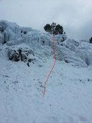 Rock Climbing Photo: El Carsón route.