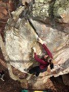 Rock Climbing Photo: Jess on Ripple
