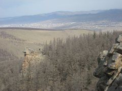 Rock Climbing Photo: Looking north toward UB.