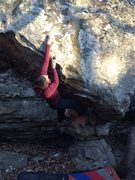 Rock Climbing Photo: Jess on Belly Button
