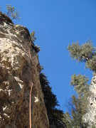 Rock Climbing Photo: Attitude Adjustment, 5.10a