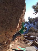 Rock Climbing Photo: Dish Flake Direct.