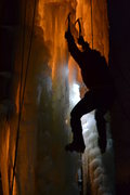Rock Climbing Photo: Al on Ice