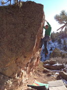Rock Climbing Photo: Steep crimps.