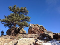 Rock Climbing Photo: The Hawthorn Block.