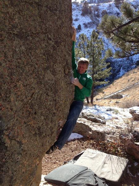 Rock Climbing Photo: Arête.
