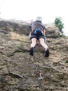 Rock Climbing Photo: Capharnaüm nearing the small roof...