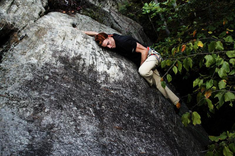 Rock Climbing Photo: Tyler Casey