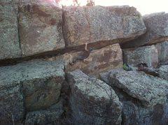 Rock Climbing Photo: Best warm-up ever!