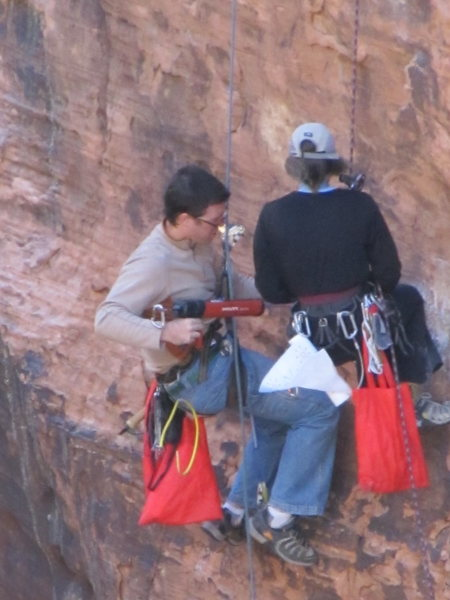 Rock Climbing Photo: What's wrong with this picture?