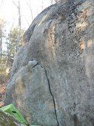 Rock Climbing Photo: the flake start