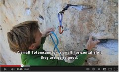 Rock Climbing Photo: Totem cams!