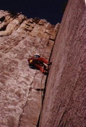 Rock Climbing Photo: Unknown PA route...