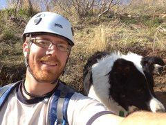 Rock Climbing Photo: Tucker and I