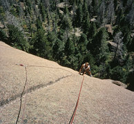 Rock Climbing Photo: One of the best face climbs in the entire Platte. ...