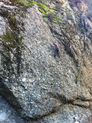 Rock Climbing Photo: Warming up on Cruiser, Wheeler Gorge