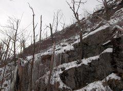 Rock Climbing Photo: Start area