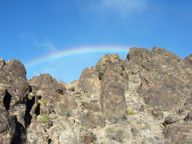 Rainbow at New Jack City