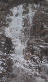 Glenwood Falls, early January, 2013.