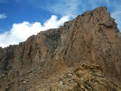 Rock Climbing Photo: The Citadel - East Summit (looking W). Standard ro...