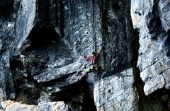 "Rock Climbing Photo: Climbing ""The best route in Minnesota"" (..."