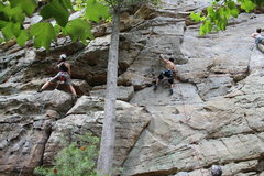 Rock Climbing Photo: Chitrabhanu on Working for the weekend and Mary Be...