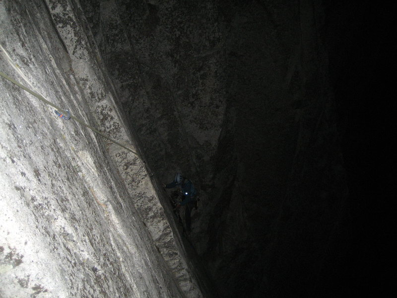 P1 of South Face of Washington Column in the Dark