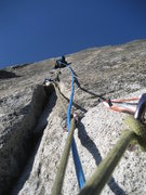 Rock Climbing Photo: Awesome 7th (?) pitch of South Face of Washington ...