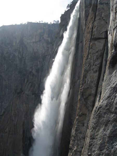 Rock Climbing Photo: Beautiful view of Yosemite Falls from Lost Arrow S...