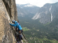 Rock Climbing Photo: Lost Arrow Spire Direct, P5