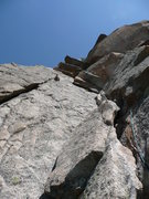 Rock Climbing Photo: Mountineers route