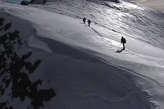 Rock Climbing Photo: Most of the route is a ridge with nice views to th...