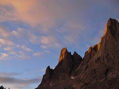 Rock Climbing Photo: Cirque sunrise.