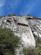 Rock Climbing Photo: T. Chrudinsky on Haley Anna.