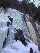 Rock Climbing Photo: Right side of PR, Jan 13'
