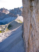 Rock Climbing Photo: Hasse-Brandler route from the Comici-Dimai